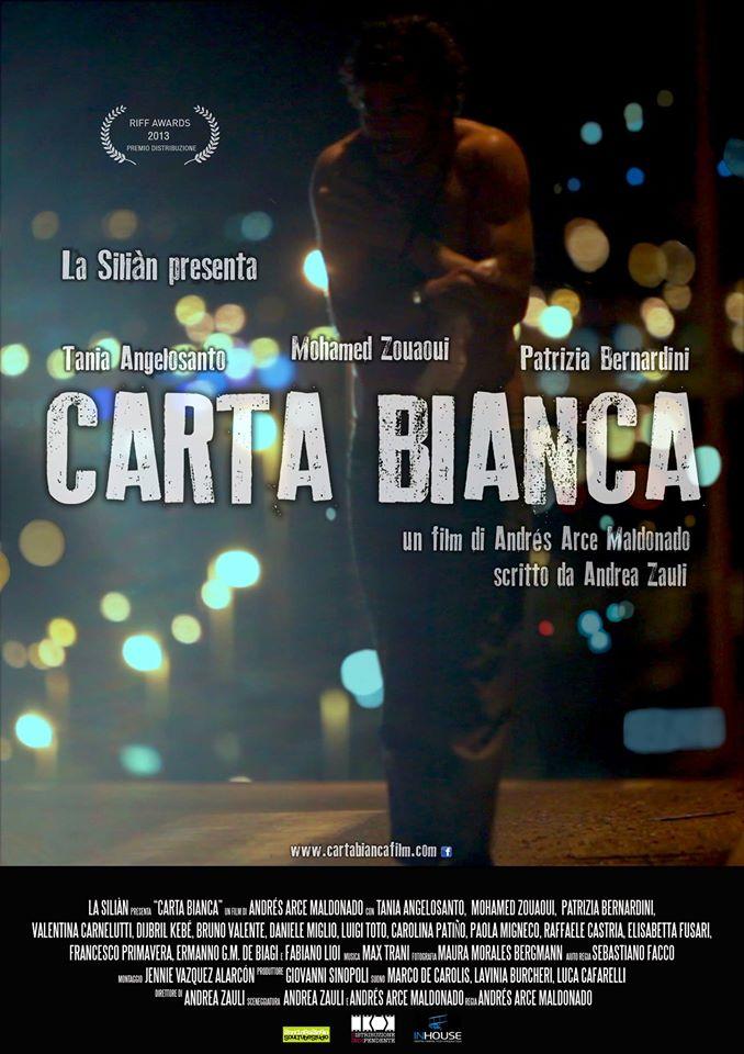 locandina CARTA BIANCA