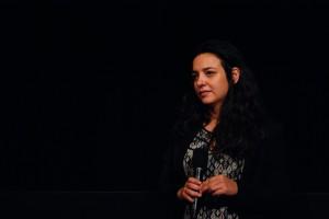 Ufuk Emiroglu, durante la presentazione del suo film